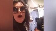 Παρουσιάστρια έγινε έξαλλη επειδή της ζήτησαν σε μαγαζί να βάλει αντισηπτικό (video)
