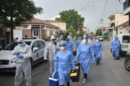 Covid-19: Νέα μεγάλη δειγματοληψία σήμερα στη Νέα Σμύρνη Λάρισας (φωτο)