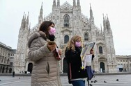Κορωνοϊός: Μείωση των κρουσμάτων στην Ιταλία