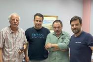Πάτρα: O Διονύσης Πλέσσας συναντήθηκε με τον πρόεδρο του ΣΚΕΑΝΑ