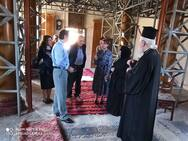 Επίσκεψη Χριστίνας Αλεξοπούλου και Γιάννη Μπούγα στην Ιερά Μονή Παναγίας Βαρνάκοβας (φωτο)