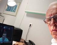 Ανδρέας Μαζαράκης - 'Συνάντηση' με τον Μιχάλη Χρυσοχοΐδη, μέσω τηλεδιάσκεψης