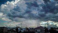 Ο Μάιος 'αποχαιρετά' με βροχές την Πάτρα