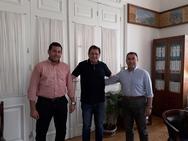 Ο Δήμαρχος Πατρέων συναντήθηκε με τον Νίκο Ζαχαριά