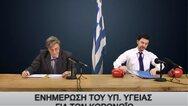 Τάκης Ζαχαράτος: «Μεταμορφώνεται» σε Τσιόδρα και Χαρδαλιά (video)