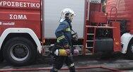 Πάτρα: Λήξη συναγερμού για τη φωτιά στην οδό Μεσολογγίου