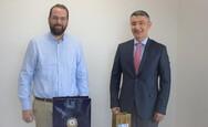 Δυτική Ελλάδα: Συνάντηση του Περιφερειάρχη με τον Πρέσβη του Αζερμπαϊτζάν (φωτο)