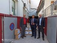 Συνεχίζεται η διάθεση υγειονομικού υλικού στην Π.Ε. Αχαΐας (φωτο)