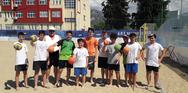 Beach handball για τους μικρούς της Ακαδημίας των Σπορ Πάτρας