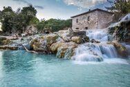 Οι φυσικές πισίνες με το ζεστό νερό στην Τοσκάνη