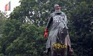 Δολοφονία Φλόιντ: Βανδαλισμοί σε αγάλματα του Λεοπόλδου Β' στο Βέλγιο (φωτο)