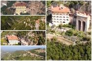 Aπό ψηλά η εντυπωσιακή Ιερά Μονή Σεπετού στην Ηλεία (video)