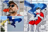 Πάτρα - Aγυιά: Στα... παρασκήνια της ιδιαίτερης τοιχογραφίας του Millo (video)
