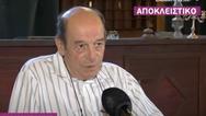 Μανούσος Μανουσάκης: 'Υπάρχουν ιδέες για μια επόμενη σειρά' (video)