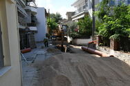 Πάτρα: Σε εξέλιξη το έργο αποχέτευσης στα Καντριάνικα (φωτο)