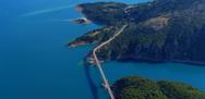 Λίμνη Κρεμαστών -  H γέφυρα Τατάρνας από ψηλά με drone (video)