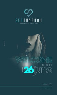 Welcome Night at Sea Through