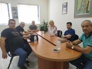 Αχαΐα: Η Σία Αναγνωστοπούλου επισκέφθηκε το Εργατοϋπαλληλικό Κέντρο Αιγίου