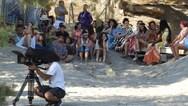 Μάταλα - Άρχισαν τα γυρίσματα της ταινίας 'Η παραλία' (φωτο)