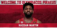 Παίκτης του Ολυμπιακού ο Μάρτιν