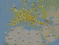 Γέμισε αεροπλάνα ο ουρανός της Ευρώπης