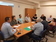 Ο Αντιπεριφερειάρχης Θ.Βασιλόπουλος συναντήθηκε μεεκπροσώπους της Ένωσης «Ο ΝΗΡΕΑΣ»