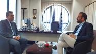 Πάτρα: Ο Νεκτάριος Φαρμάκης συναντήθηκε με τον υφυπουργό Τουρισμού (video)
