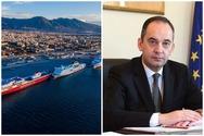 Στο λιμάνι της Πάτρας, ο Υπουργός Ναυτιλίας και Νησιωτικής Πολιτικής