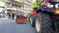 Αχαΐα: Συγκέντρωση διαμαρτυρίας πραγματοποιήσαν οι αγρότες Ερυμάνθου