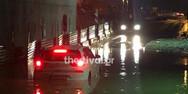 Ισχυρή βροχόπτωση «έπληξε» τη Θεσσαλονίκη
