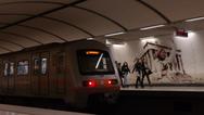 Άντρας έπεσε στις ράγες του μετρό στον σταθμό Νομισματοκοπείου