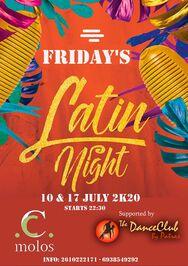 Friday's Latin Night στο C.Molos