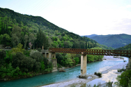 Γέφυρα Μπανιά - Ένα απαράμιλλης ομορφιάς 'έργο τέχνης' μέσα στη φύση (video)