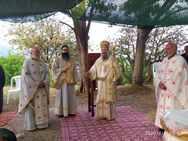 Πλήθος κόσμου στο «πάτημα» του Αγίου Αποστόλου Ανδρέα στο Λεόντιο Πατρών