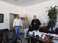 Κλιμάκιο του ΜέΡΑ25 Αχαΐας επισκέφθηκε τον Κρατικό Αερολιμένα Αράξου
