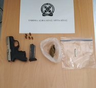 Συνελήφθη άνδρας στο Αίγιο για παράνομη οπλοκατοχή