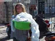 Πάτρα: Πήρε τη μπουγάδα από το σπίτι της στο Ρίο και πήγε στη ΔΕΥΑΠ!