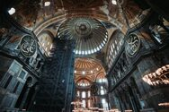 Hurriyet: 'Οι αγιογραφίες στην Αγία Σοφία θα καλυφθούν με ειδική τεχνολογία και φωτισμό'