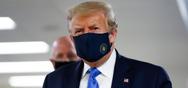 Ο Ντόναλντ Τραμπ φόρεσε για πρώτη φορά προστατευτική μάσκα