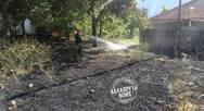 Καλάβρυτα: Κινδύνευσαν σπίτια από τις φλόγες στο χωριό Λαγοβούνι