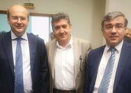 Ο Γρηγόρης Αλεξόπουλος έδωσε το παρών στην παρουσίαση του προτεινόμενου νέου εθνικού σχεδιασμού διαχείρισης στερεών αποβλήτων