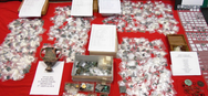 Δράμα: Λογιστής είχε σπίτι του 55.000 αρχαία νομίσματα