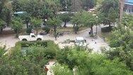 Πάτρα: Ψεκασμοί δέντρων στις πλατείες Τριών Συμμάχων και Ομονοίας