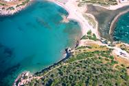 Άγιος Νικόλαος Αναβύσσου - Ο... Μπάλος της Αττικής από ψηλά (video)