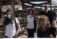 Μάτι Αττικής: 'Ράγισαν' καρδιές στο μνημόσυνο (φωτο)
