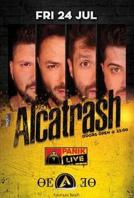 Alcatrash at Thea Cafe Bar
