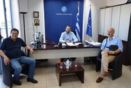 Πάτρα - Σύσκεψη μεταξύ Περιφέρειας και Δήμου για την αποκατάσταση του παραλιακού μετώπου