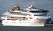 Το τεράστιο κρουαζιερόπλοιο που έφτασε στο λιμάνι της Πάτρας χωρίς τουρίστες