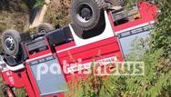 Ηλεία: Τούμπαρε πυροσβεστικό στην Κλινδιά