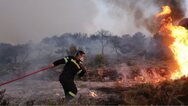 Φωτιά σε δασική έκταση στον Άγιο Νικόλαο Κρήτης